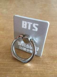 BTS Silver Iring for iPhone Android