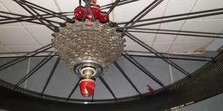 Road Rear wheel