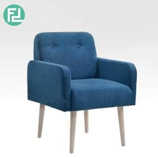 VANCO solid wood arm chair- custom color