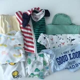 TO BLESS 8 Pcs Baby's Clothes Carter's 6-12months