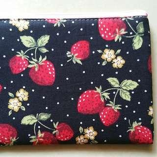 BN Juicy Strawberry Makeup Pouch