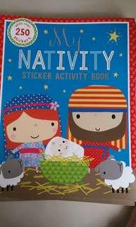 Children Activity Sticker Book