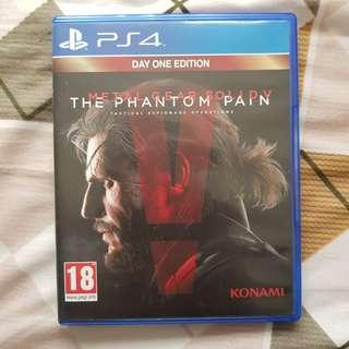 BD PS4 Metal Gear Solid V Phantom Pain