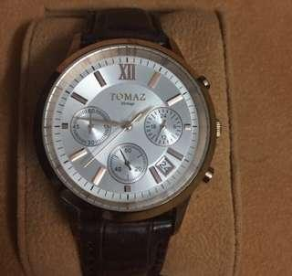 TOMAZ Authentic Leather Watch