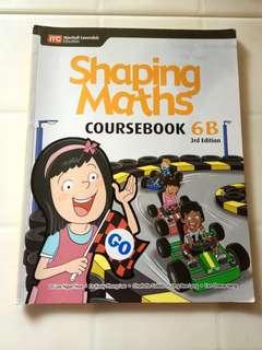 Primary 6 (6B) Shaping Maths Coursebook