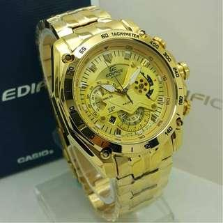 Casio Edifice EFR550 GOLD Watch Special Price Year End Sale
