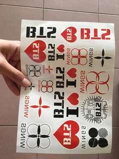 BTS Logo Tattoo