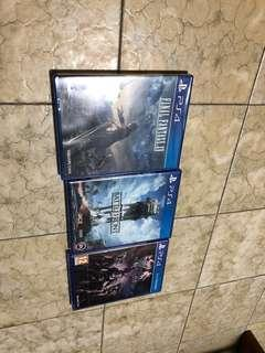 PS4 Games Bundle Brand New