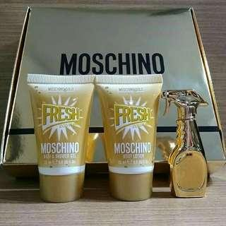 Moschino fresh gold set