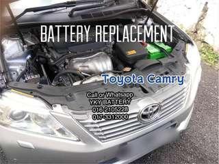 Kereta Bateri Toyota Camry , Amaron Hi Life 85D23L