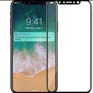 BUY 1 FREE 1 iPhone XS Full Coverage screen Protector