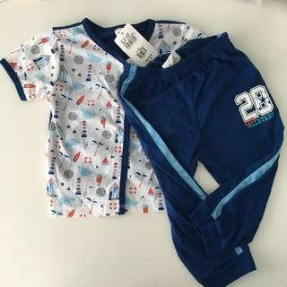 BNWT Tollyjoy Baby Boy's Clothes Set 12 months