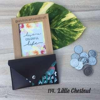Handpainted Coin Purse Wallet