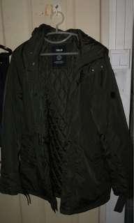 Parka / Bomber Jacket BRAND NEW dark olive green