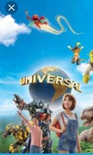 Universal Studio uss ticket adult