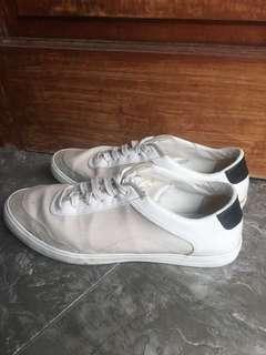 ZARA white mix grey casual trendy  sneakers