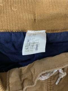 🚚 H/M男童褲 12-18M