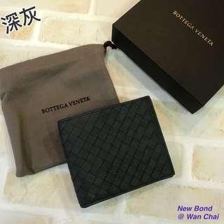 深灰‼️ Bottega Veneta BV 男裝銀包