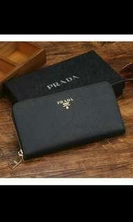 (PO)Inspired Prada Saffiano Long Wallet
