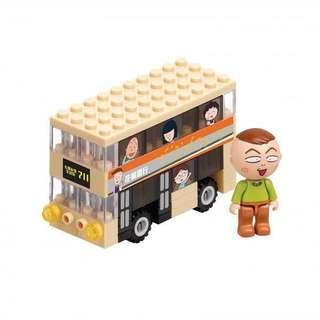 「限量版交通工具小情景」 豬太郎巴士🚌