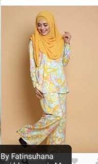 #MY1212 Pucci Palazo ByFatinSuhana (Yellow Color)