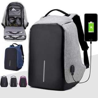Anti Theft Backpack laptop bag multipurpose backpack 🎒bobby design USB bag (Free cable) #MY1212