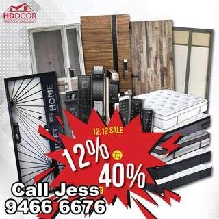 HDDoor All the door and digital lock now promotion