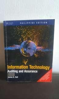 INFORMATION TECHNOLOGY AUDITING ASSURANCE - JAMES A. HALL