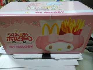 Empty box of My melody carrier