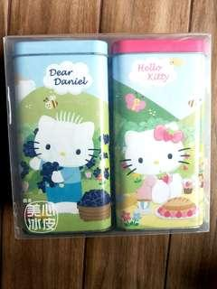 Hello Kitty Metal Tin / Container