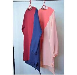Marnie Color Block Tunic #MY1212