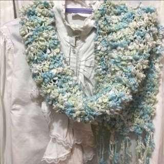 Tiffany blue 頸巾