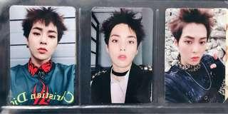 xiumin dmumt set (3 versions)