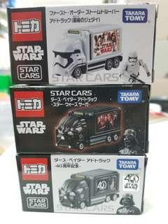 聖誕特價 快閃優惠 Takara Tomy Tomica Star Wars 星戰 星球大戰 合金車仔 一套3款