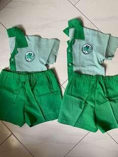 PL preschool set uniform (boys)