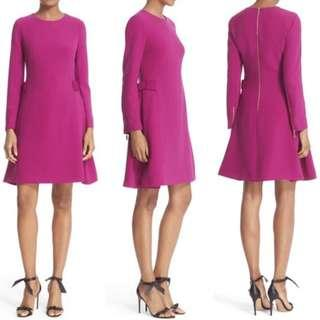 Ted Baker Emorly Side Bow Dress  size 3