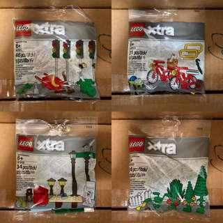 <DEREK> Lego xtra Polybag 40310, 40311, 40312 and 40313