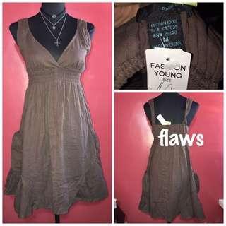 brown dress Med-Large