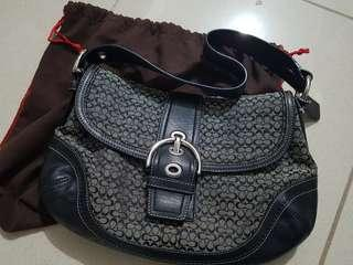 Coach black bag