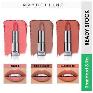 Maybelline Color Sensational Powder Mattes Lipstick, Avenue C/ Nude Illusion