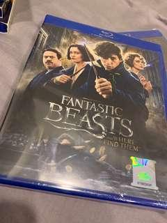 FANTASTIC BEAST AND WHERE TO FIND THEM BLURAY