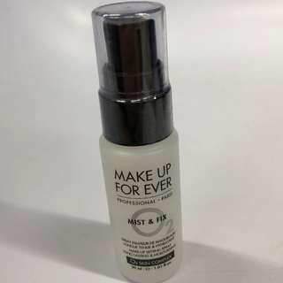 MAKE UP FOR EVER MIST & FIX MAKE-UP SETTING SPRAY 30ml. [BRAND NEW & AUTHENTIC] NO SWAPS, PRICE IS FIRM