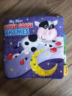 My First Mother Goose Rhymes Cloth Book
