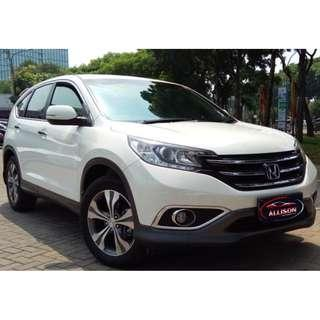 Honda CRV 2.400 CC Prestige Automatic 2012 Putih Istimewa Dp 31,9