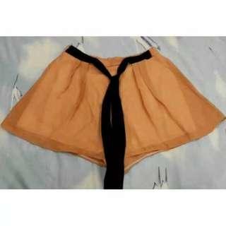 Celana Pendek Short Flare Pants Polyester