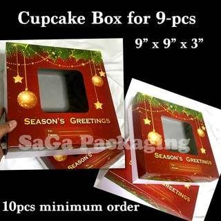 Cupcake Box for 9