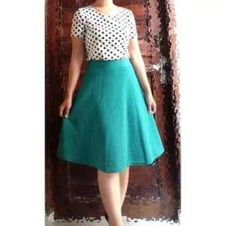 Scuba Skirt Tosca