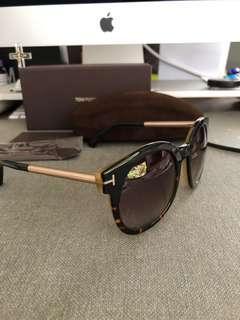 Tom Ford Janina Tortoise Sunglasses