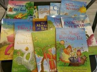 英文圖書 Usbourne First Reading 圖書 13本 適合幼稚園至小學適合 培育智慧 kids book 教科書 故事書 常識