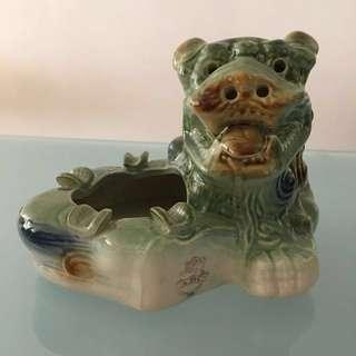 ABC Extra Stout Lion Porcelain Ashtray